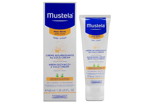 MUSTELA BEBE KREM ODŻYWCZY Z COLD CREAM 40 ml