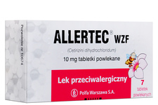 ALLERTEC WZF 7 tabletek