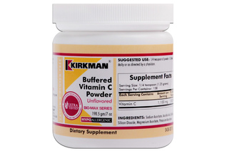 BUFFERED VITAMIN C POWDER (HYPOALLERGENIC) 198,5 g