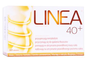 LINEA 40+ 60 tabletek