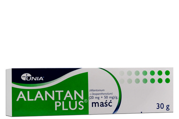 ALANTAN PLUS 30 g maść