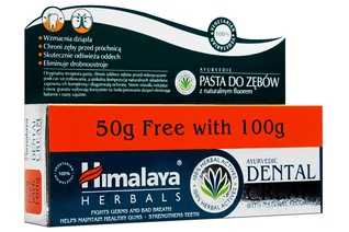 HIMALAYA HERBALS PASTA DO ZĘBÓW DENTAL CREAM 150 g
