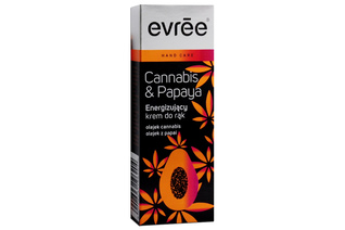 CANNABIS & PAPAYA ENERGIZUJĄCY KREM DO RĄK 30 ml