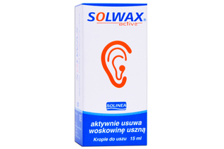 SOLWAX ACTIVE krople do uszu 15 ml