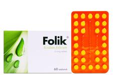 FOLIK 0,4 mg 60 tabletek