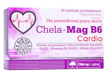 CHELA-MAG B6 CARDIO 30 tabletek