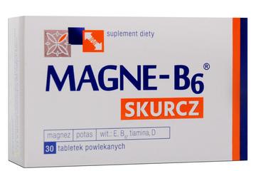 MAGNE B6 SKURCZ 30 tabletek