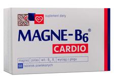 MAGNE B6 CARDIO 50 tabletek