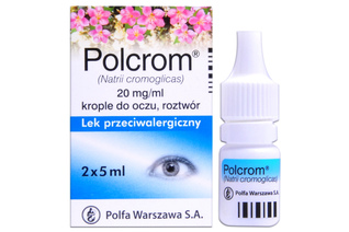 POLCROM 2 x 5 ml krople