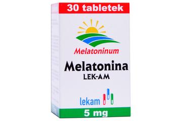 MELATONINA LEK-AM 5 mg 30 tabletek