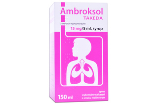 AMBROKSOL TAKEDA 15 mg 150 ml