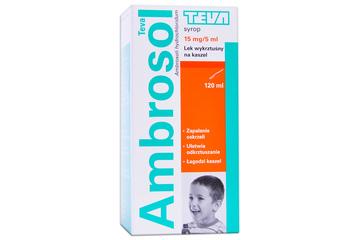 AMBROSOL 15 mg 120 ml syrop
