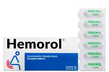 HEMOROL 12 czopków