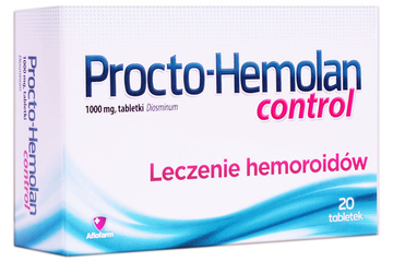 PROCTO-HEMOLAN CONTROL 20 tabletek