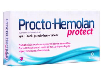 PROCTO-HEMOLAN PROTECT 10 czopków
