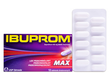 IBUPROM MAX 400 mg 12 tabletek