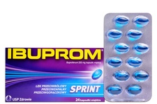 IBUPROM SPRINT 200 mg 24 kapsułki