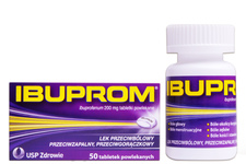 IBUPROM 200 mg 50 tabletek