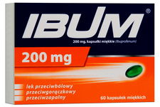 IBUM 200 mg 60 kapsułek