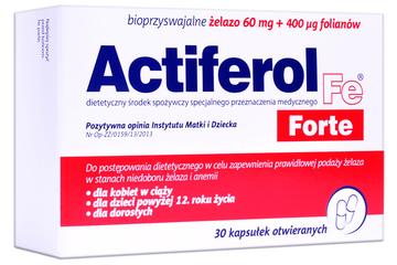 ACTIFEROL 60 mg FORTE 30 kapsułek