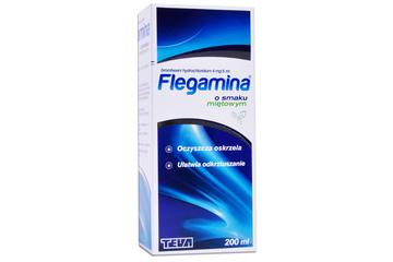 FLEGAMINA SMAK MIĘTOWY 4mg/5ml 200 ml syrop