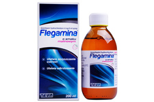 FLEGAMINA SMAK MALINOWY 4mg/5ml 200 ml syrop