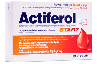 ACTIFEROL START 7 mg 30 saszetek