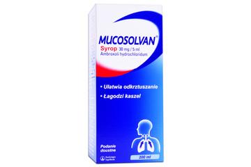 MUCOSOLVAN 200 ml syrop