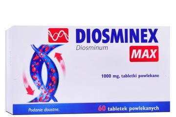 DIOSMINEX MAX 60 tabletek