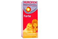 NUROFEN FORTE SMAK POMARAŃCZOWY 200 mg/5ml 100 ml