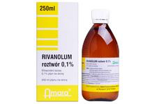 RIVANOL 0,1% 250 ml płyn