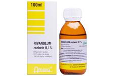 RIVANOL 0,1% 100 ml płyn