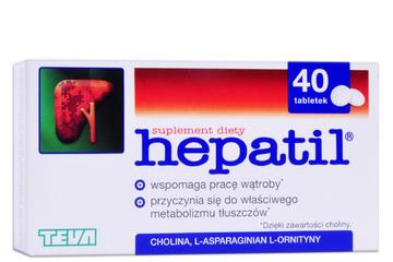 HEPATIL 40 tabletek