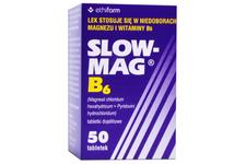 SLOW-MAG B6 50 tabletek