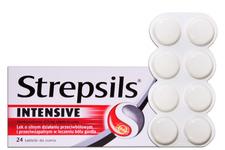 STREPSILS INTENSIVE 24 tabletki do ssania