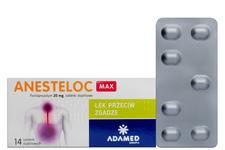 ANESTELOC MAX 20 mg 14 tabletek