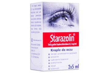 STARAZOLIN 2 x 5 ml krople