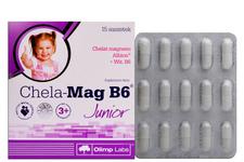 CHELA-MAG B6 JUNIOR SMAK POMARAŃCZOWY 15 saszetek