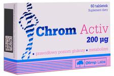 CHROM ACTIV 60 tabletek