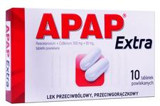 APAP EXTRA 10 tabletek