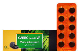 CARBO MEDICINALIS VP 20 tabletek