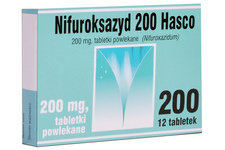 NIFUROKSAZYD 200 mg 12 tabletek