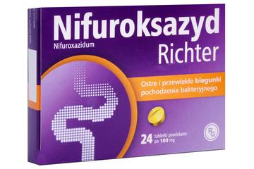 NIFUROKSAZYD 100 mg 24 tabletek