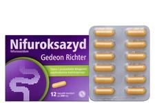 NIFUROKSAZYD 200 mg 12 kapsułek