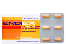 ENDIEX 200 mg 12 kapsułek