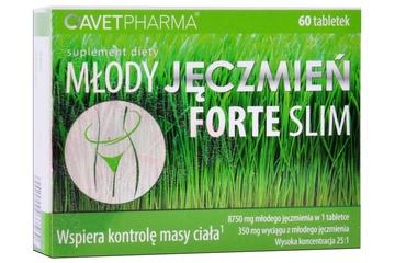 MŁODY JĘCZMIEŃ FORTE SLIM 60 tabletek
