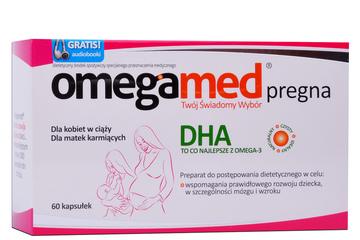 OMEGAMED PREGNA DHA 60 kapsułek