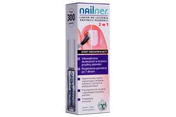 NAILNER LAKIER DO LECZENIA GRZYBICY PAZNOKCI 5 ml