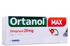 ORTANOL MAX 20 mg 14 kapsułek