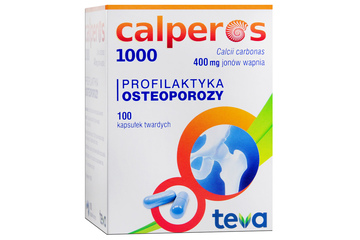 CALPEROS 1000 100 kapsułek